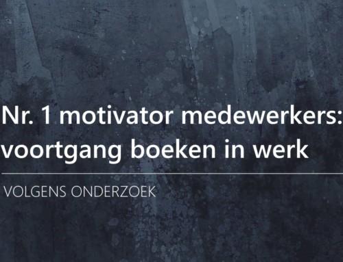 Managers schatten belangrijkste motivator voor medewerkers verkeerd in