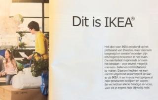 Missie en visie van Ikea